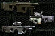 CARB assault rifle variants