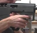 CARB non-lethal training gun