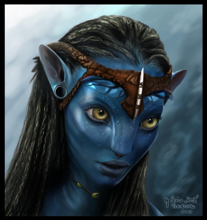 Jake Sully Avatar 2: Image - Portrait Neytiri.jpg