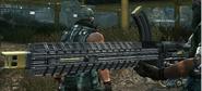 DENT machine gun left side-Yellow 9789768676