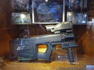 GS-221 CARB PDW behind glass