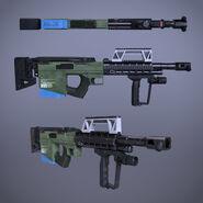 CARB shotgun 3D model 1