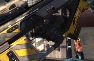 BARRO yellow colour pistolgrip hand 12464