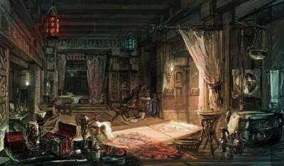 Filippas bedroom