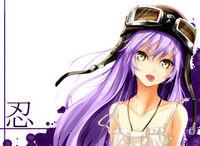 Purple haired anime girl by akumadainashi-d61kga3