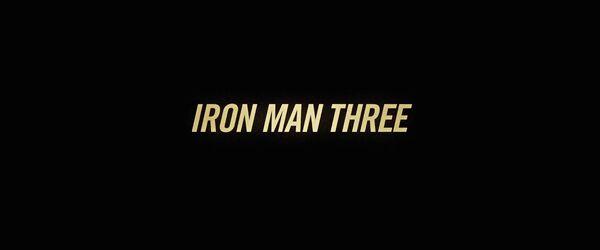 Iron Man 3 Logo