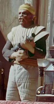 Bill Tlusty as Chokk - Jabba's Bodyguard