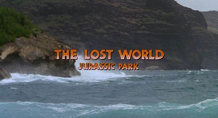 The Lost World - Jurassic Park Logo