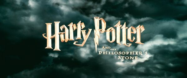 Harry Potter and the Philosopher's Stone Logo