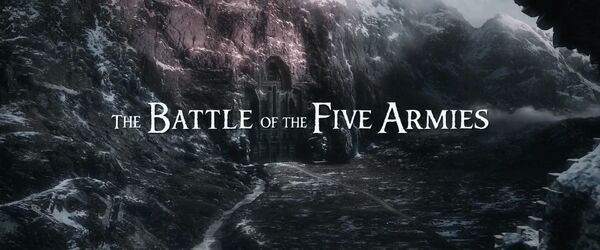 The Battle of the Five Armies Logo