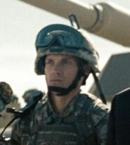 Aaron Smolinski as Communications Officer