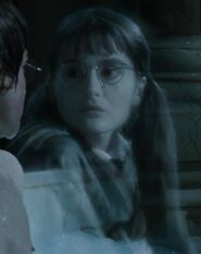 Shirley Henderson as Moaning Myrtle (GOF)