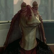 Ahmed Best as Jar Jar Binks (Voice) (AOTC)