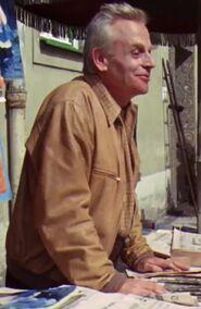Werner Heyking as Mr. Jopeck