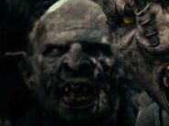 Phil Grieve as Hero Orcs, Goblins, Uruks & Ringwraiths (Prologue Mordor Orc)