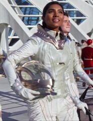 Priya Rajaratnam as Young Astronaut