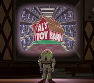 Greg Berg as Additional Voices - Al's Toy Barn Announcer (Voice)
