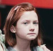 Bonnie Wright as Ginny Weasley (PS)