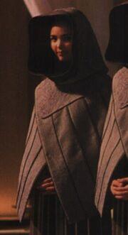 Chantal Freer as Handmaiden (Scenes Deleted)