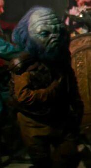 Kiran Shah as Castle Alien