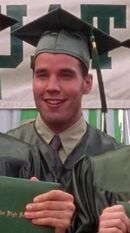 Larry Lane as Graduation - Chess Club Twin