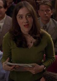 Rona Benson as Female Student