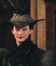 Sally Mortemore as Madam Pince