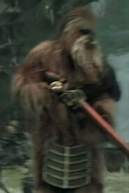 Robert Cope as Wookiee