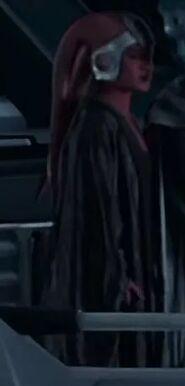 Trisha Biggar as Twi'lek Senatorial Aide