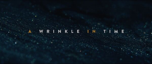 A Wrinkle in Time (2018) Logo
