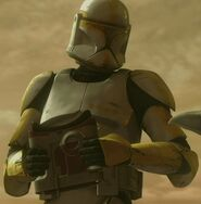Temuera Morrison as Clone Troopers (Commander) (AOTC)