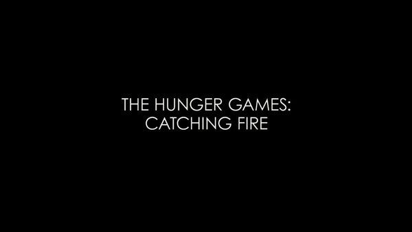 The Hunger Games - Catching Fire Logo