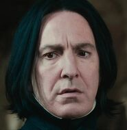 Alan Rickman as Professor Snape (PS)