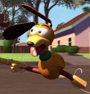 Jim Varney as Slinky Dog (Voice) (TS)