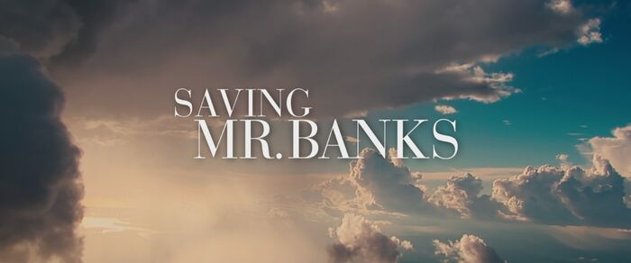 Saving Mr. Banks Logo