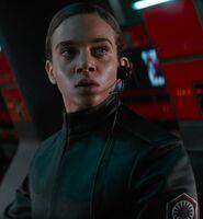 Hannah John-Kamen as First Order Officer