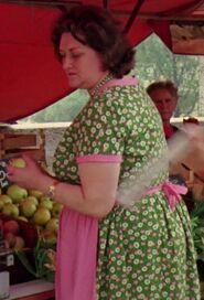 Unknown as Woman in Market