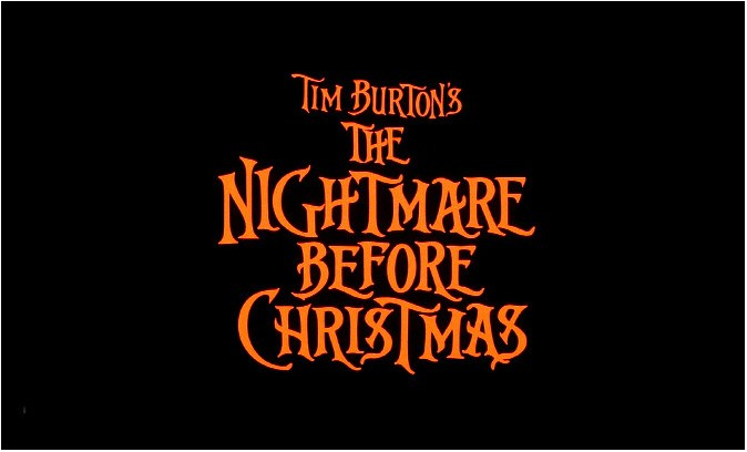 The Nightmare Before Christmas Logo