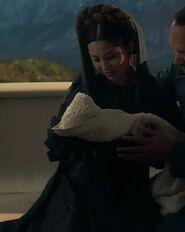 Rebecca Jackson Mendoza as Queen of Alderaan