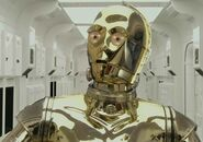Anthony Daniels as C-3PO (ROTS)