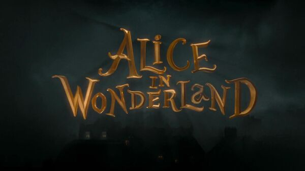 Alice in Wonderland (2010) Logo