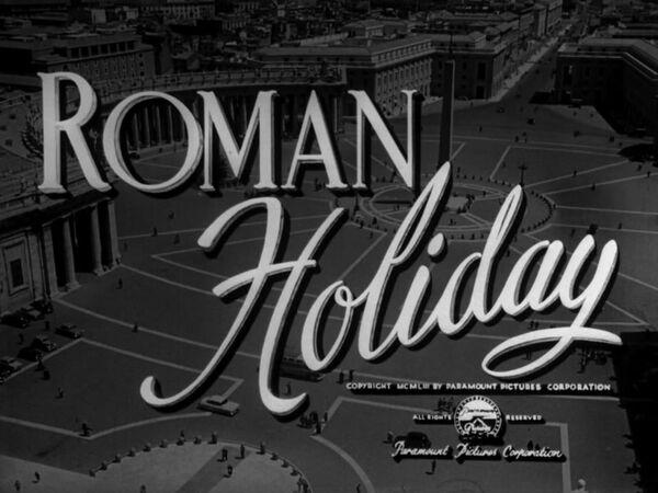 Roman Holiday Logo