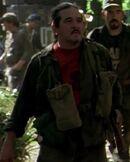 Thomas Rosales Jr. as Rebel Militant