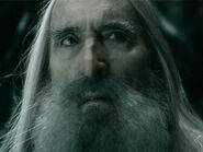 Christopher Lee as Saruman (BOTFA)