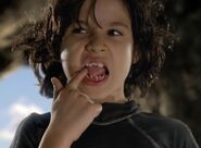 Racer Rodriguez as Sharkboy (Age 7)