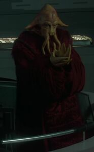Warren Duxbury as Senator's Aide