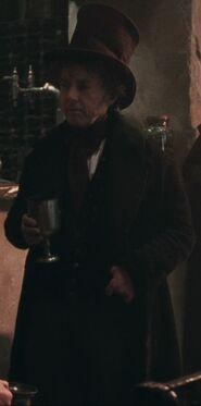 David Brett as Dedalus Diggle