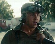 Kyle Reifsnyder as Little Bird Gunship Pilot