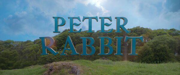 Peter Rabbit (2018) Logo