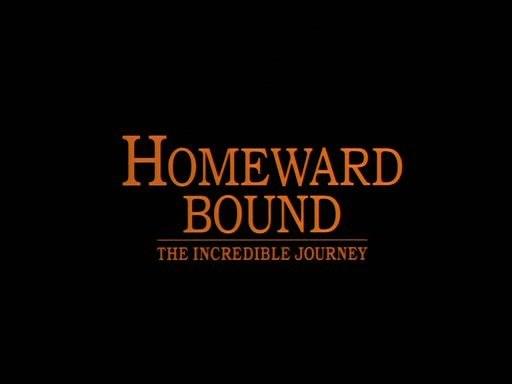 Homeward Bound - The Incredible Journey Logo